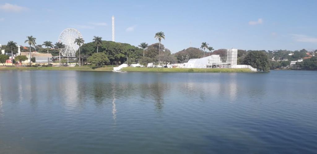 Volta da Pampulha encontra uma lagoa cristalina