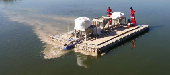 Enzilimp segue mais um ano sendo aplicado nas águas da Pampulha, em BH, Enzilimp