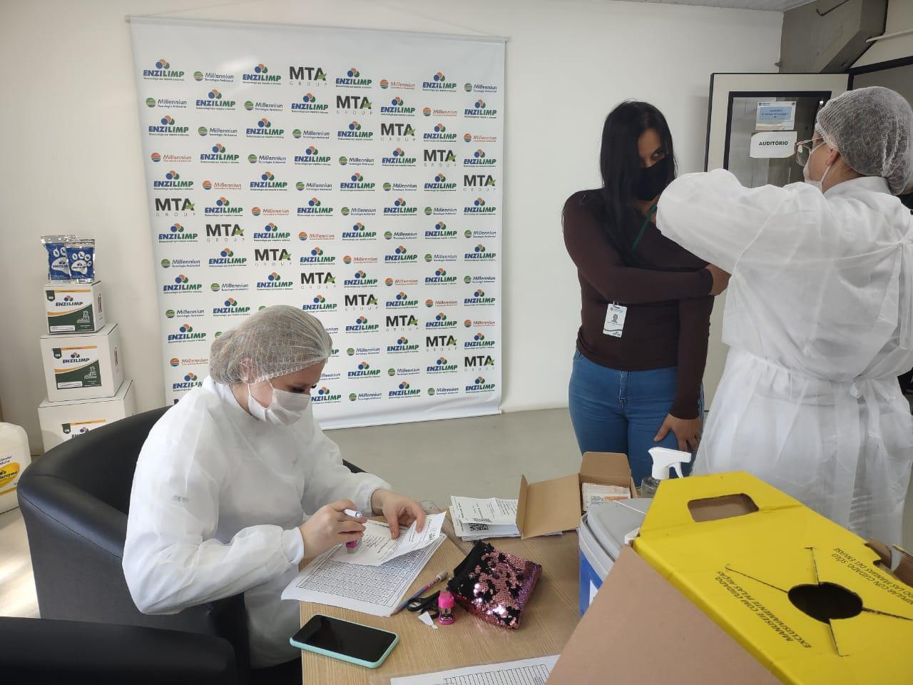 Millennniun vacina colaboradores, Enzilimp